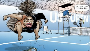 JK Rowling Condemns Serena Williams' Cartoon, Calls It 'Racist, Sexist'