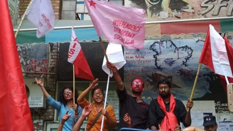 JNUSU Elections 2018 Results: Left Unity Alliance Wins All 4 Posts, Sai Balaji Elected President