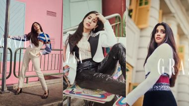 These Inside Pictures of Janhvi Kapoor From Her Latest Magazine Photoshoot Are Chic And Gorgeous - View Pics