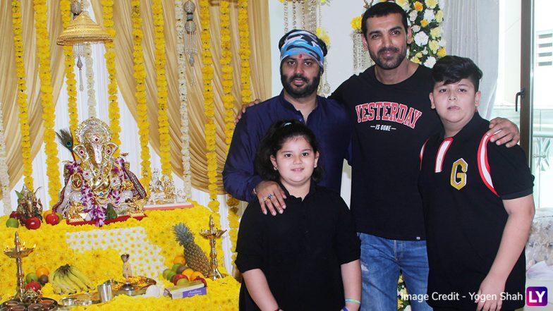 Ganesh Chaturthi 2018 Inside Pics of Sonu Sood, Tusshar Kapoor, John Abraham Praying to Bappa
