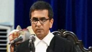 Swine Flu Hits Supreme Court, Six Judges Down with H1N1 Virus, Informs Justice DY Chandrachud