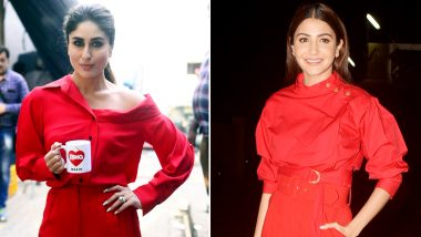 Kareena Kapoor Khan or Anushka Sharma – Whose Red Hot Avatar Scored High on Your Fashion Meter?