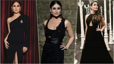 Kareena Kapoor Khan Birthday Special: 5 Times the Diva Looked Drop Dead Gorgeous in Black