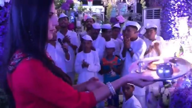 Katrina Kaif Gets Trolled For Doing The Ganesha 'Aarti' Wrong At Salman Khan's Residence - Watch Video