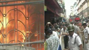 Kolkata Bagree Market Fire: FIR Registered Against Owner; Fire Brought Under Control After 2 Days