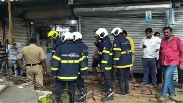 Mumbai: Wall Collapses Close to Kurla Railway Station, Train Lines Unaffected