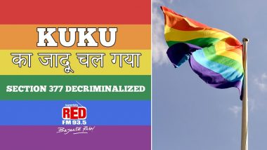 Section 377 Verdict Has Made Social Media Colourful, Happy and Gay, Check Tweets