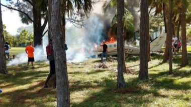 Plane Crash in Lake Worth of Florida, Kills 2