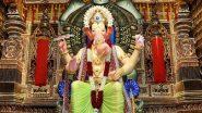 Lalbaugcha Raja Ganeshotsav Mandal to Celebrate Ganesh Utsav in Traditional Way Amid COVID-19 Pandemic