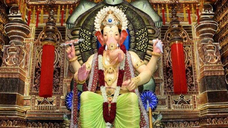 Lalbaugcha Raja 2018 Live Streaming: Watch Telecast of Ganpati Puja Aarti From Mumbai's Most Famous Ganesh Pandal