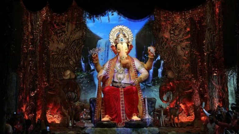 Lalbaugcha Raja Visarjan Route 2018: Immersion Path Details Out; Mumbai Police Issues Traffic Advisory on Roads Leading to Girgaon Chowpatty, Juhu Beach, Sheetal Talao