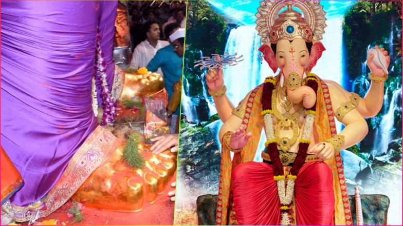 Lalbaugcha Raja Live Streaming From Mumbai on Anant Chaturdashi 2018: Last Chance for Mukh Darshan & Charan Sparsh Along With Live Telecast of Ganpati Pandal Aarti