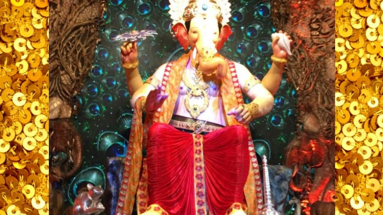 Lalbaugcha Raja 2018 LIVE Mukh Darshan From Mumbai Day 4: Watch Live Telecast & Streaming of Lalbaugcha Raja Ganpati Pandal Aarti