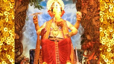 Lalbaugcha Raja 2018 LIVE Mukh Darshan From Mumbai Day 9: Watch Live Telecast & Streaming of Lalbaugcha Raja Ganpati Pandal Aarti