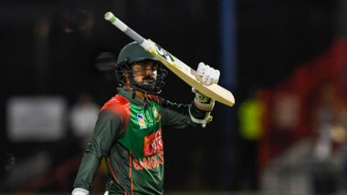 Liton Das Registers Highest Score by a Bangladesh Batsman in ODIs, Breaks Tamim Iqbal's Record During BAN vs ZIM 3rd ODI 2020