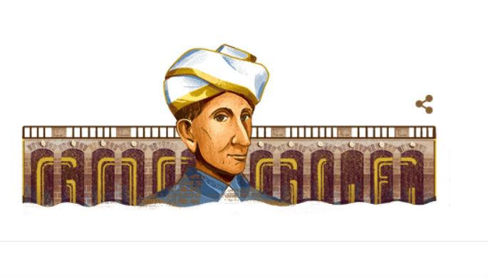 Sir Mokshagundam Visvesvaraya 158th Birthday: Google Honours Scholar on Engineers' Day in India With a Doodle