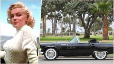 Marilyn Monroe's 1956 Ford Thunderbird Wedding Car to Be Auctioned & Could Fetch Upto Rs. 3.6 Crores