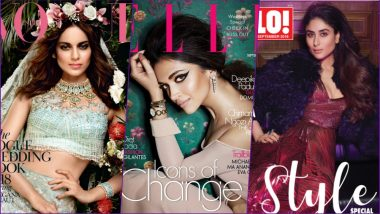 September 2018 Magazine Covers: From Kangana Ranaut to Deepika Padukone to Kareena Kapoor Khan, See All the Stunning Cover Stars!