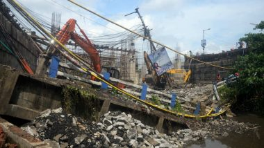 Joka Metro Work at Site of Majerhat Bridge Collapse Resumes