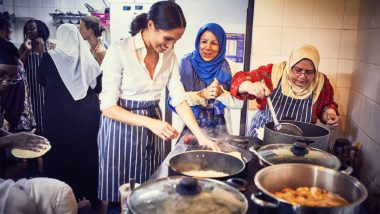 Meghan Markle Makes Secret Trips to Cook for Grenfell Tower Victims, Supports Them for a Charity Cookbook (See Pictures)