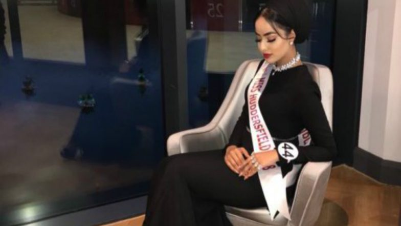 First Time Muslim Contestant to Wear Hijab in Miss England Finals