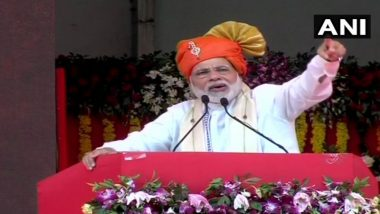 Narendra Modi Warn Pakistan Says, Indian Soldiers will Give Befitting Reply to Attempts of Ruining India's Peace