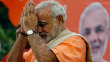 PM Narendra Modi Pay Tributes to Rajmata Vijaya Raje Scindia on Birth Anniversary