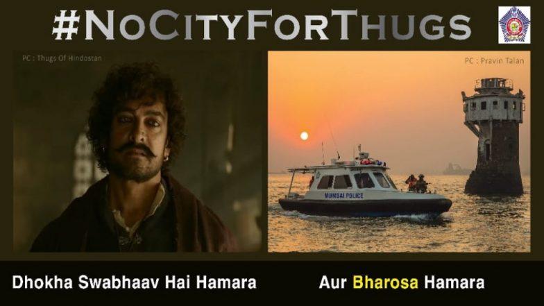 Mumbai Police's Latest Tweet on 'Thugs of Hindostan' is a Good Warning to All Thugs of Mumbai