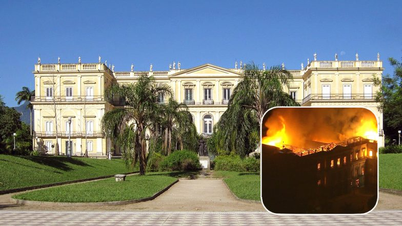 Brazil's National Museum Catches Fire, Destroys More Than 20 Million Pieces of History