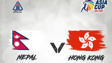 Nepal vs Hong Kong, Asia Cup 2018 Qualifier Match Live Streaming on YouTube: Get Live Cricket Score, Time in IST, Team Details of 15th Exhibition ODI Match
