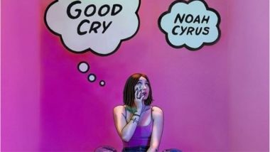Noah Cyrus, Younger Sister of Miley Cyrus is Selling a Bottle of Her Tears for 12000 Dollars