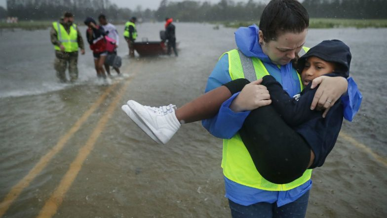 Hurricane Florence Makes Landfall in North Carolina, US: Here Are 8 Pictures That Show Effect of The Natural Calamity