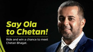 Ola Says You Win a Chance to Ride With Chetan Bhagat, Twitterati Say They Will Take Uber Instead