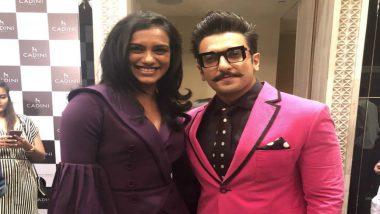 Ranveer Singh Has 'Fan Moment' on Meeting PV Sindhu