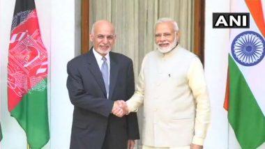 PM Modi, Afghanistan President Ashraf Ghani Hold Talks