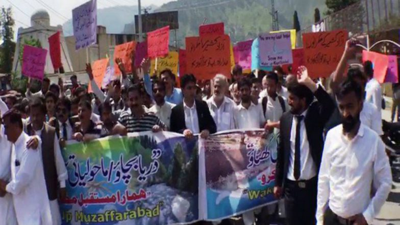 Protests Erupt in PoK in Demand to End Exploitation of Natural Resources by Islamabad