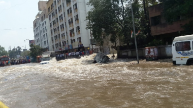 Pune: Mutha Canal Wall Collapses, Flooding in Low-Lying Areas