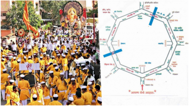 Ganpati Visarjan 2018 in Pune: Check Immersion Route, Road Map, Traffic Advisory, Roadblocks and Parking Spots For Anant Chaturdashi