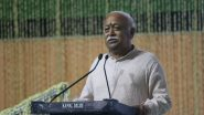 RSS Chief Mohan Bhagwat to Interact with Foreign Media on September 24 in Delhi