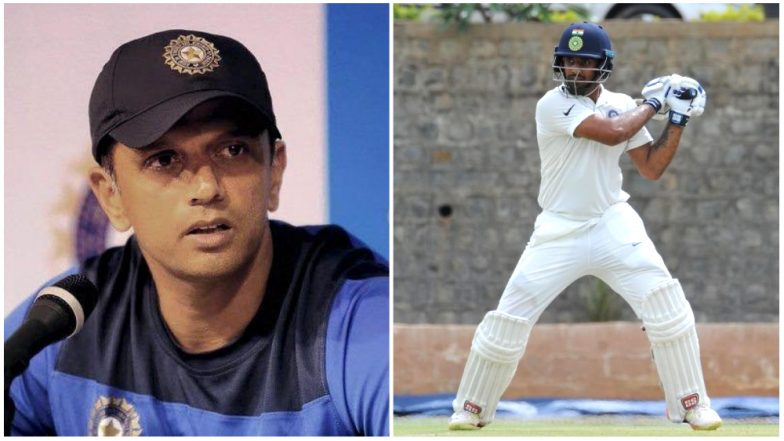 Hanuma Vihari Credits India A Coach Rahul Dravid for His Success in Debut Test Match Against England