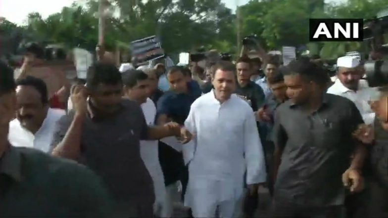 Rahul Gandhi Leads Opposition's 'Bharat Bandh' Protest Against Fuel Price Hike