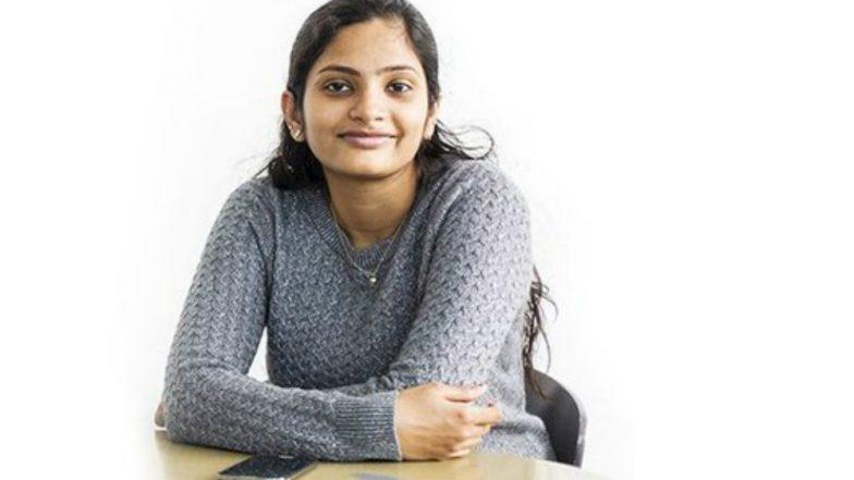 India-born Woman Student Rajalakshmi Nandakumar to Get 'Young Scholar 2018 Award' in US