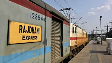 Coronavirus Outbreak: Delhi Couple Deboarded at Kazipet from Rajdhani Train After Home Quarantine Seal Found on Husband's Hand