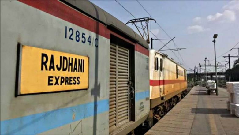 Odisha: Fire Breaks Out in Rajdhani Express Near Khantapada