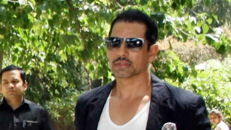 Robert Vadra Appears for ED Questioning in Money Laundering Case