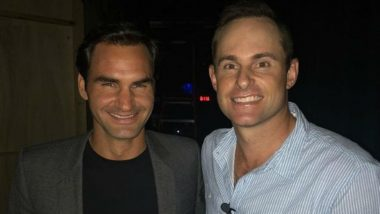 Roger Federer Meets Andy Roddick Off the Court, Shares Picture With a Special Caption Making Fans Nostalgic