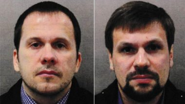 UK Releases Photos of Russians Who Carried out Nerve Agent Poisoning, Charges Them