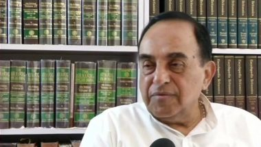 GST 'Biggest Madness of the 21st Century', Says BJP Leader Subramanian Swamy