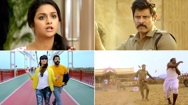 Saamy Square Trailer: Chiyaan Vikram and Keerthy Suresh's Drama Fails to Impress AGAIN – Watch Video