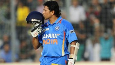 On This Day: Sachin Tendulkar Becomes First Batsman to Score 15,000 Runs in ODIs